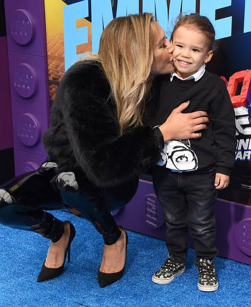 Actress Naya Rivera and her 4-year-old Josey