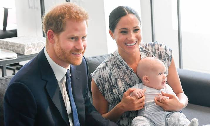 Duke of Sussex, Prince Harry and Duchess Meghan Markle and their one year old son, Archie