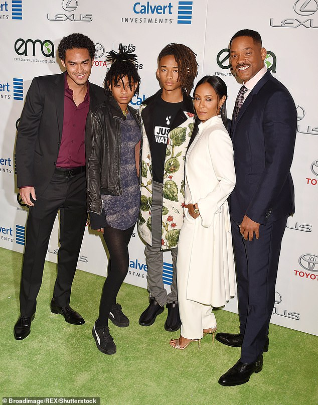 Will Smith's family
