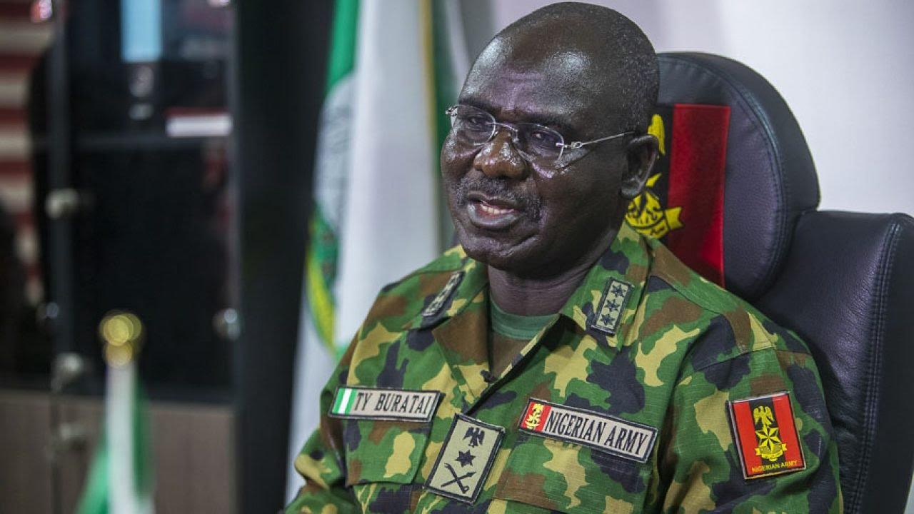 Chief of Army Staff (COAS), Lieutenant General Tukur Buratai