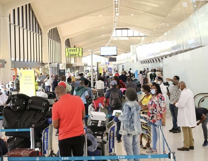 Nigerians evacuated from US