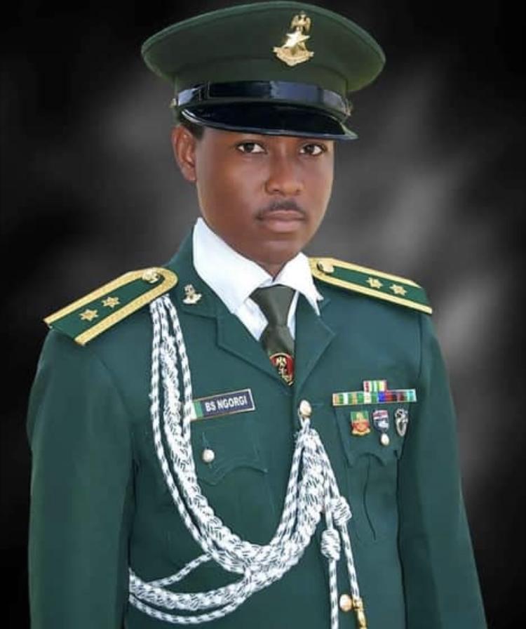 Late Lieutenant Babakaka Ngorgi of the 202 Tank Battalion