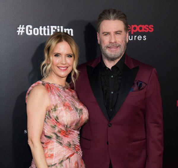 Late Kelly Preston and husband, John Travolta
