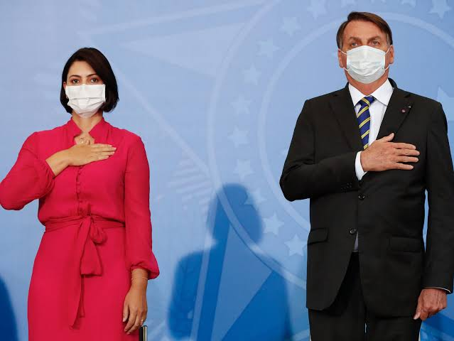 Brazil's first lady, Michelle Bolsonaro, has tested positive for the coronavirus