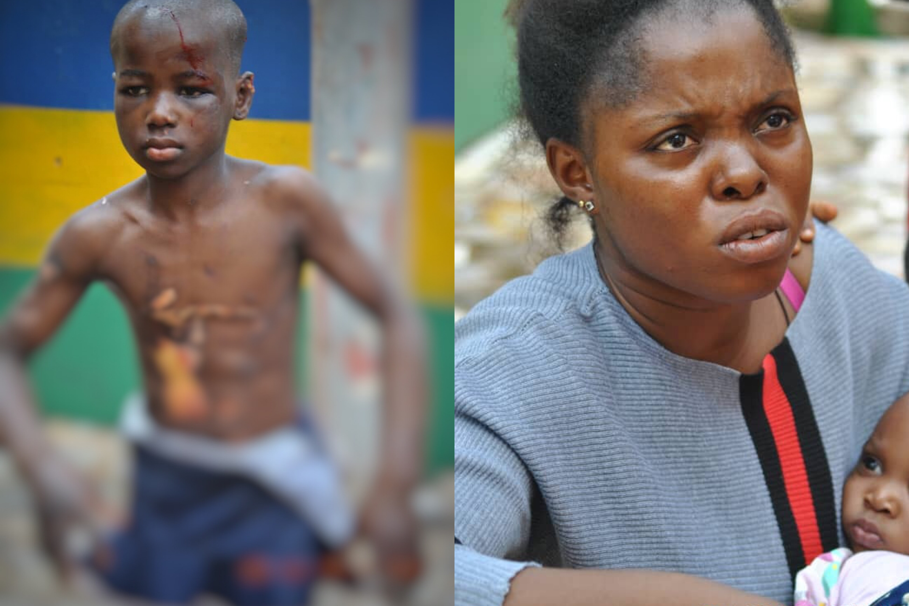 Woman who drilled nail inside head of 10 year old maid