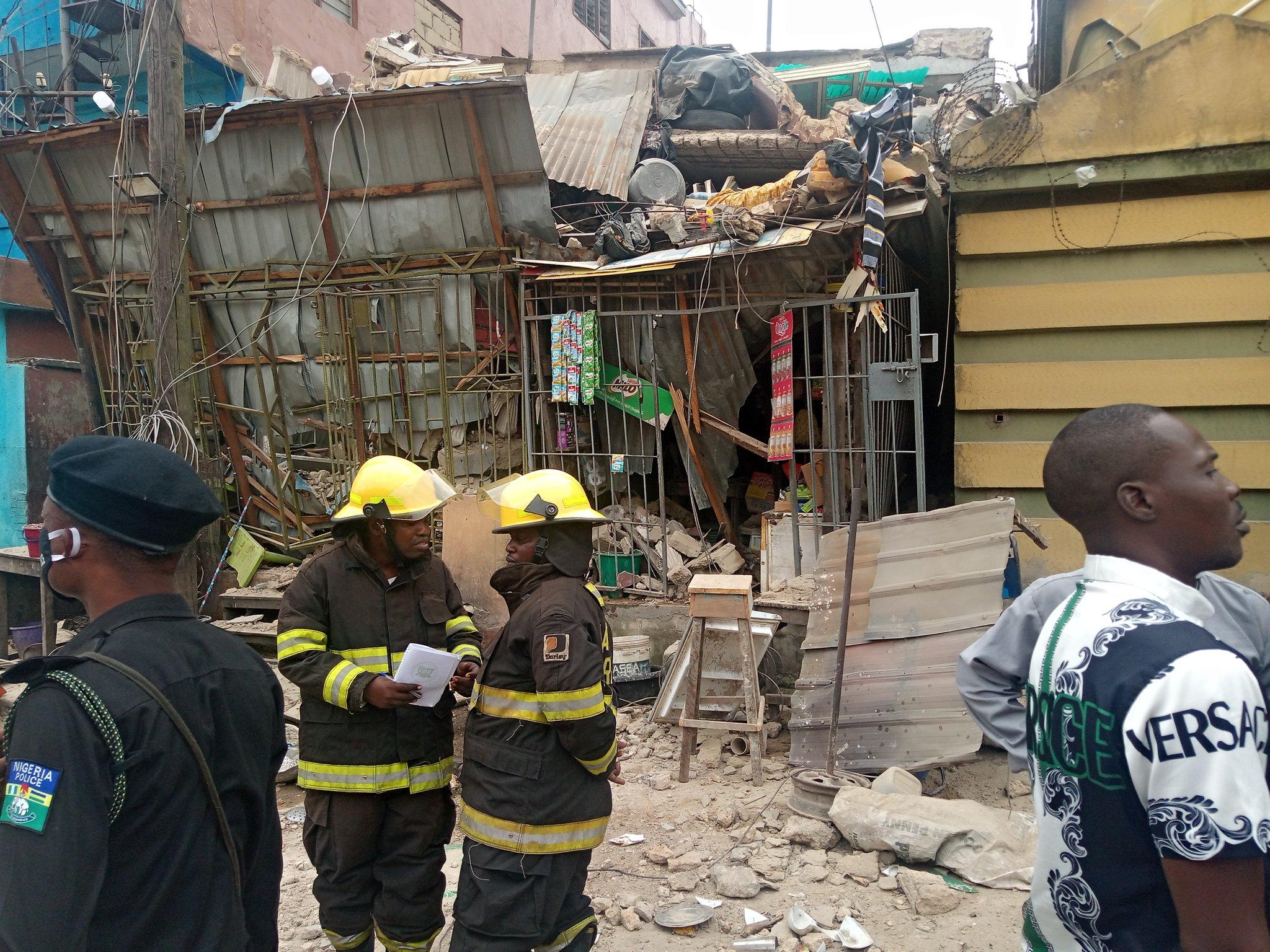 Building collapsed in Ebute Metta