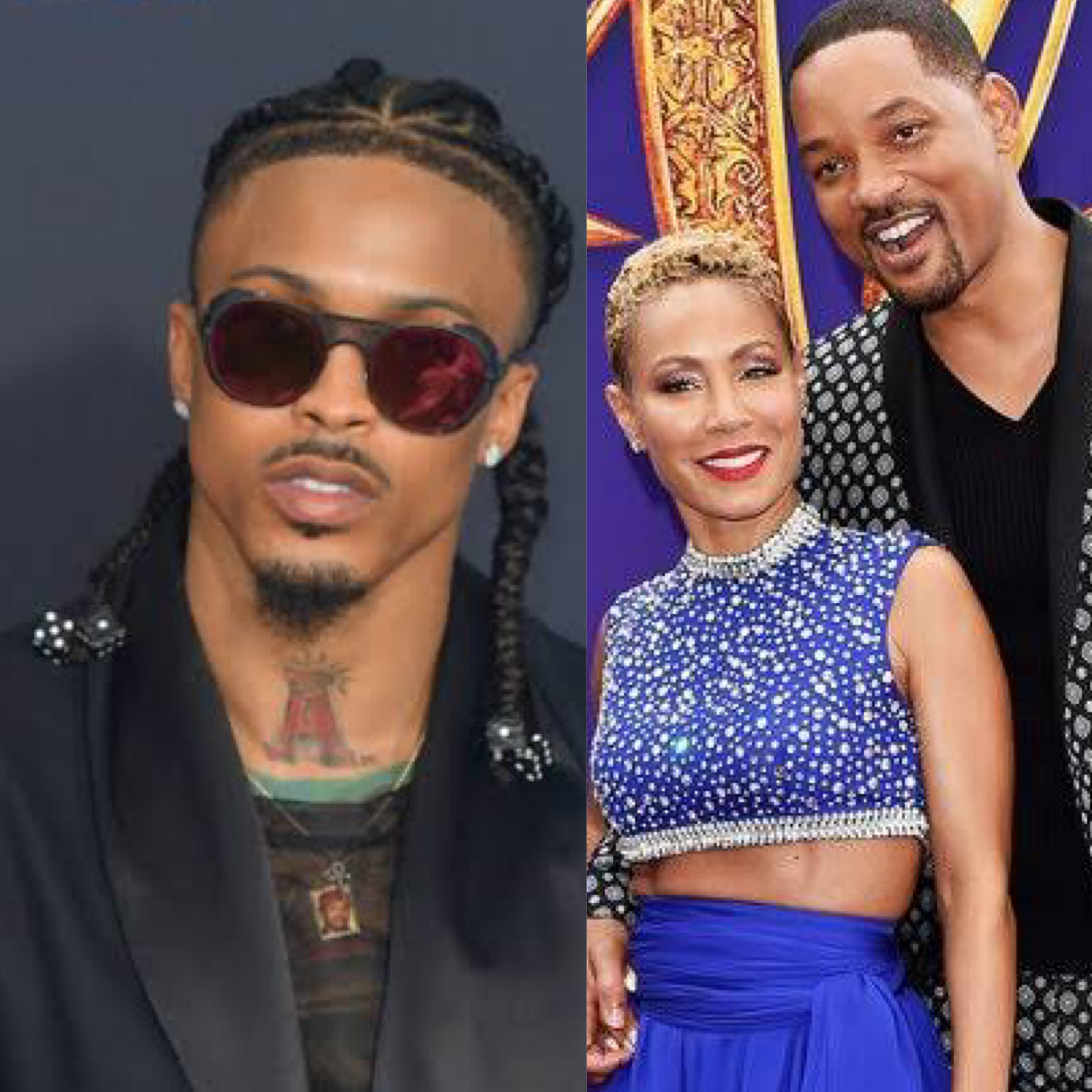 August Alsina, Jada Smith and Will Smith love triangle