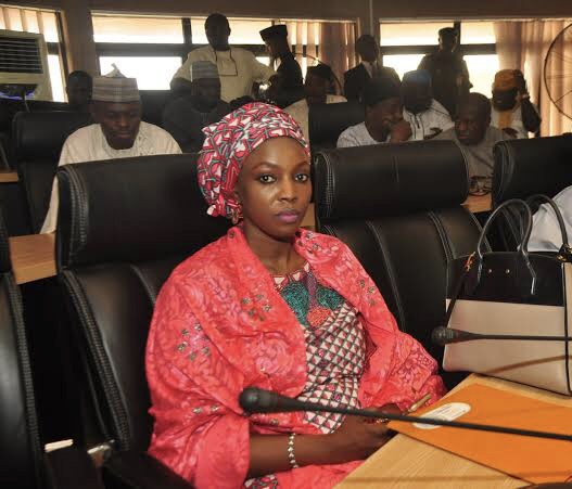 Maimuna Abubakar, board chairman of the Nigerian Postal Services (NIPOST)