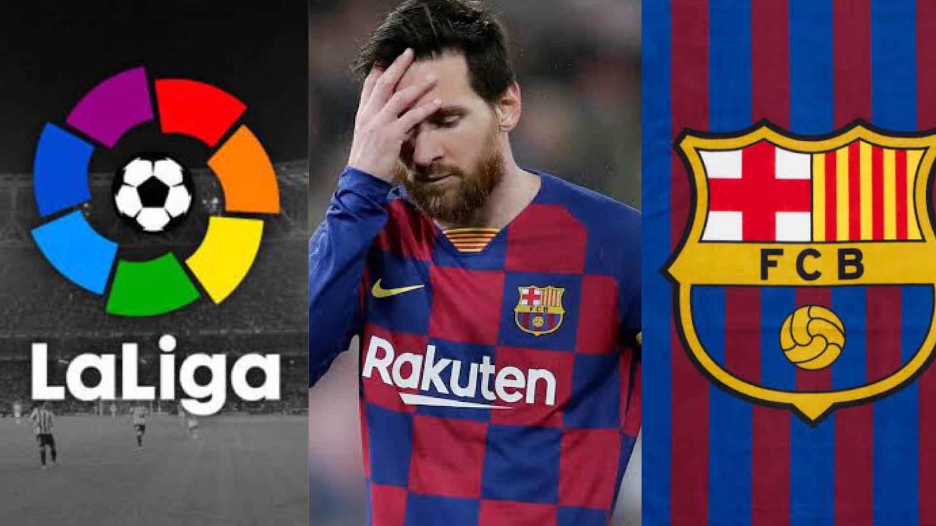 La Liga Backs Barcelona On Payment Of €700m For Messi's Exit
