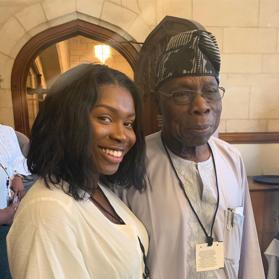 Lady Narrates Drastic Steps She Took To Become Obasanjo's PA First Day She Met Him