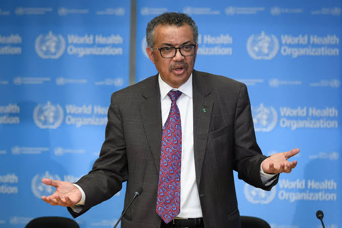 WHO Director-General, Tedros Adhanom Ghebreyesus