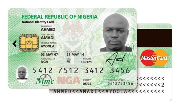 FG To Replace Plastic National Identity Card With Digital Identification
