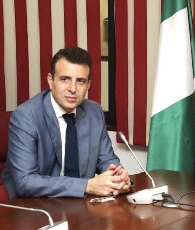 Lebanese Ambassador to Nigeria, Houssam Diab