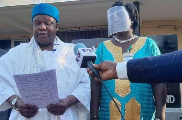 A former Deputy Governor of the Central Bank of Nigeria, Dr Obadiah Mailafia