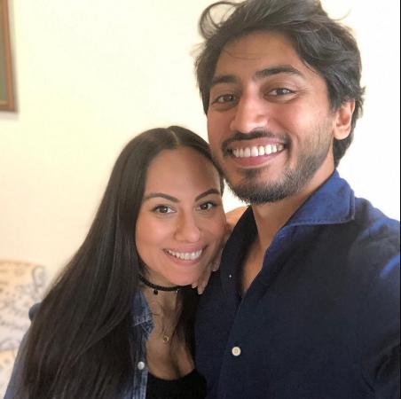Late Fahim Saleh and his sister, Ruby Angela Saleh