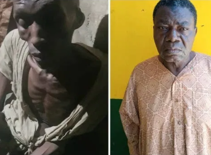 Police Arrest Father Who Locked Up 30-Year-Old Son For 7 Years