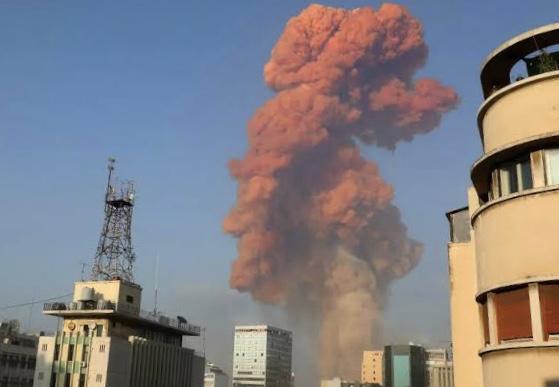 Massive Explosion Rocks Beirut In Lebanon