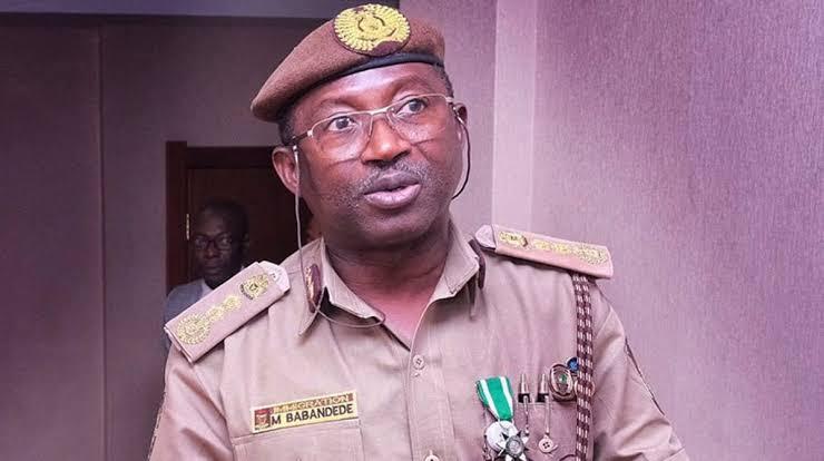 Comptroller-General of the NIS, Mohammed Babandede