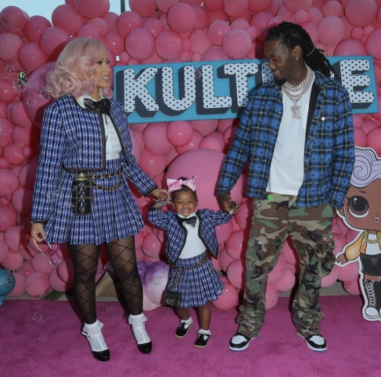 Cardi and Offset secretly got married in 2017 and share two-year-old daughter Kulture.
