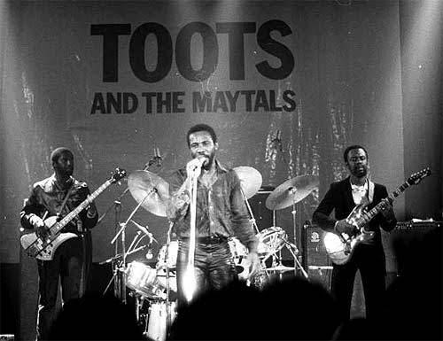 reggae and ska band Toots & the Maytals