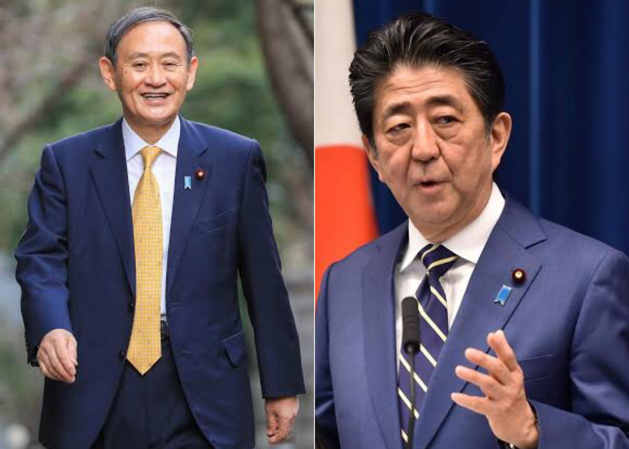 Yoshihide Suga Takes Over From Shinzo Abe As Japan's Prime Minister