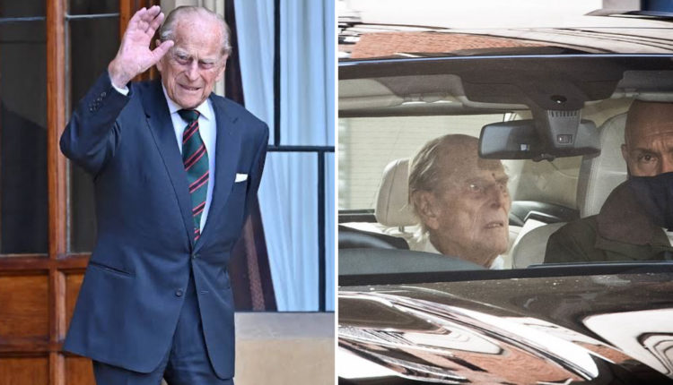 Prince Philip Leaves Hospital Two Weeks After Heart Surgery