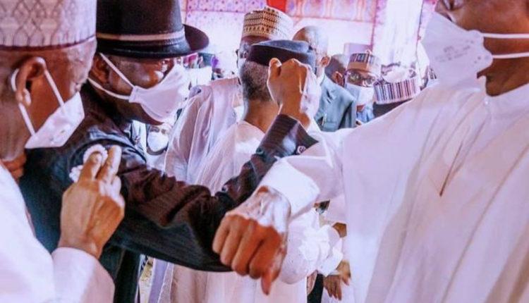 Atiku, Jonathan, Governors Attend Buhari's Son's Wedding In Kano