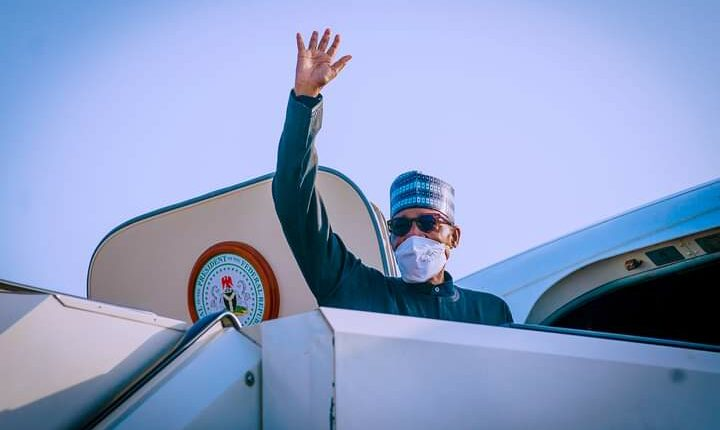 Buhari Departs Abuja For UN General Assembly In New York